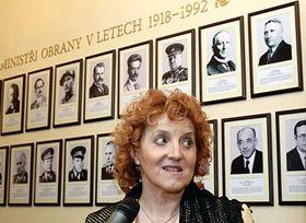 New Defence Minister Jaroslava Parkanova, photo: CTK