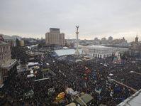 Independence Square in Kiev, Ukraine, December 15, 2013, photo: CTK