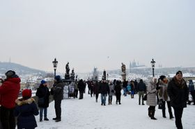 Puente de Carlos en Praga, foto: Marta Guzmán