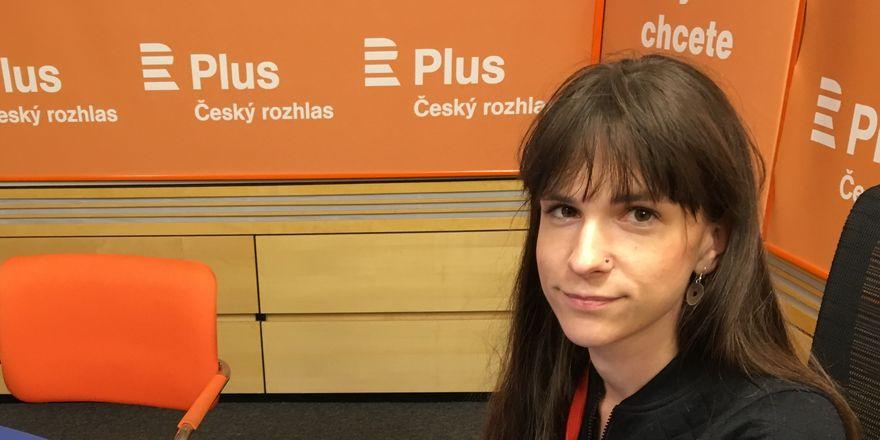 Veronika Pehe, photo: Radko Kubičko, Czech Radio
