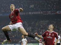Zlatan Ibrahimovic, Antonio Cassano, photo: CTK