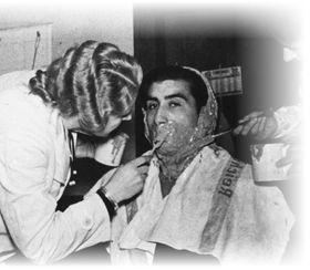 Создание слепка лица цыгана в нацистском Исследовательском институте рассовой гигиены, Фото: bundesarchiv.de