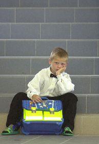 El primer día del nuevo año escolar 2003..., foto: CTK