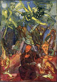 Pintura de Josef Váchal, foto: Západočeská Galerie Plzeň