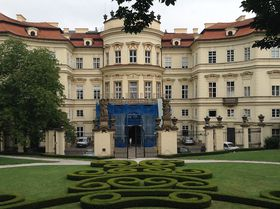 German embassy in Prague, photo: Gerald Schubert