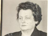 Milena Jesenská en 1940, photo: Archives de bureau de sécurité