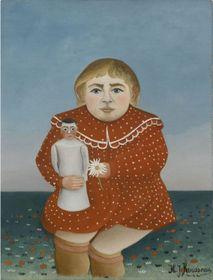 Pintura 'La niña con la muñeca', 1904, foto: Galería Nacional