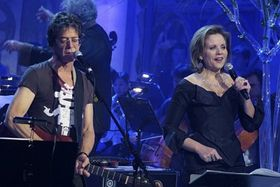 Lou Reed, Renée Fleming, photo: CTK