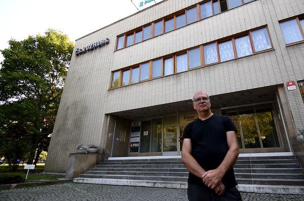 Petr Vacek de la Radio de Pilsen, foto: Ondřej Tomšů