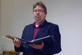 Якуб Смрчка, директор Гуситского музея в городе Табор (Фото: Адрияна Кробова, Чешское радио)