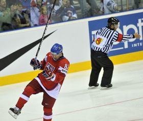 La République tchèque a réalisé une première semaine quasi parfaite au Championnat du monde de hockey sur glace, photo: CTK