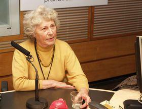 Jana Seifertová, foto: Jan Sklenář / Český rozhlas