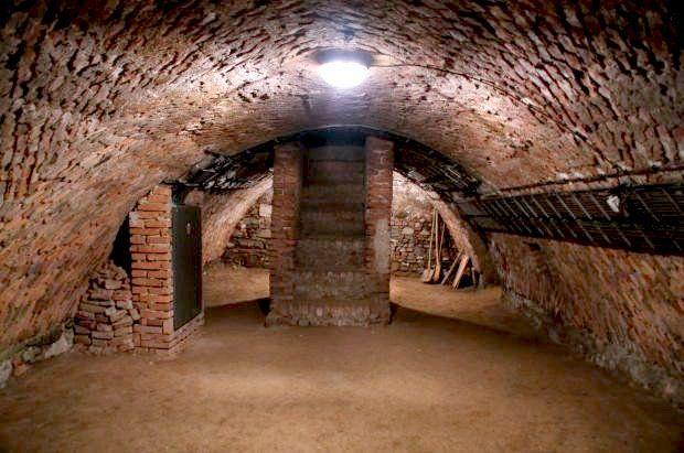 La cripta de la Iglesia de San Mauricio, foto: Miroslav Kobza, ČRo