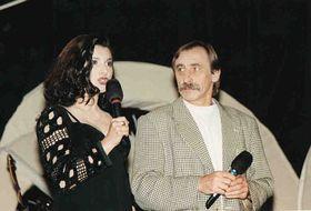 Jana Horváthová avec l'acteur Pavel Zedníček au festival Khamoro, photo: Archives de Jana Horváthová