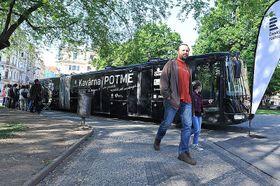 Světluška mobile café, photo: Filip Jandourek / Czech Radio