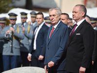 Miloš Zeman a Andrej Kiska, foto: ČTK