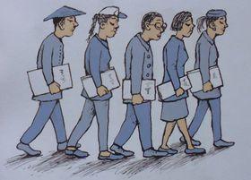 Ilustrace zknihy Rádio hlásí…, foto: Miroslav Krupička