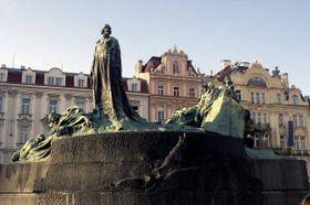 Памятник Яну Гусу на Староместской площади, Фото: CNazza CC BY 3.0