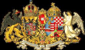 Emblema del Imperio austrohúngaro, fuente: public domain