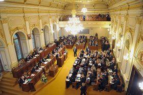Нижняя палата Парламента Чешской Республики, Фото: Филип Яндоурек, Чешское радио