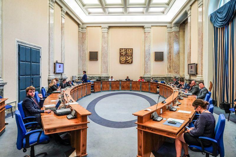 Regierungssitzung am 17. Juni (Foto: Archiv des Regierungsamtes der Tschechischen Republik)