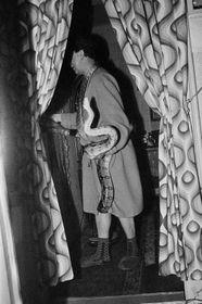 Libuše Jarcovjáková, 'Homme au serpent', 1983, photo: Site officiel d'Arles - Les rencontres de la photographie