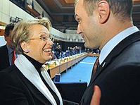Ivan Langer avec Michelle Alliot-Marie, photo: CTK