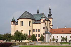 Piaristische Kirche in Litomyšl (Foto: Pudelek, CC BY-SA 3.0 Unported)