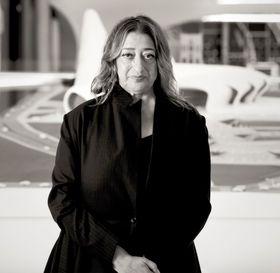 Zaha Hadid, photo: Dmitry Ternovoy, Free Art License