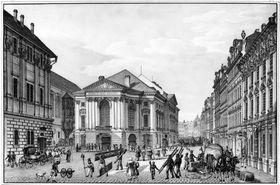 Théâtre des Etats par Vincenc Morstadt