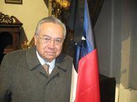 El embajador Enrique Krauss presidió la misa por Chile, foto: autor