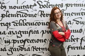 Veronika Dulíková, foto: archivo del Instituto de Egiptología
