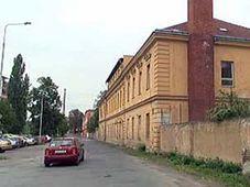 Бывших военных казарм в пражском районе Карлин