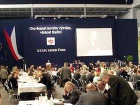 Congreso del Partido Socialdemócrata Checo (Foto: Zdenek Valis)