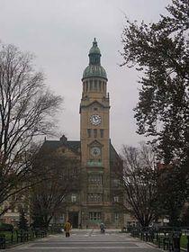 Ayuntamiento Nuevo en la ciudad de Prostejov (Foto: autora)