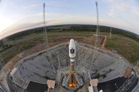 Raketa Sojuz VS01, foto: ČTK