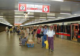 Stanice metra 'Vltavska'