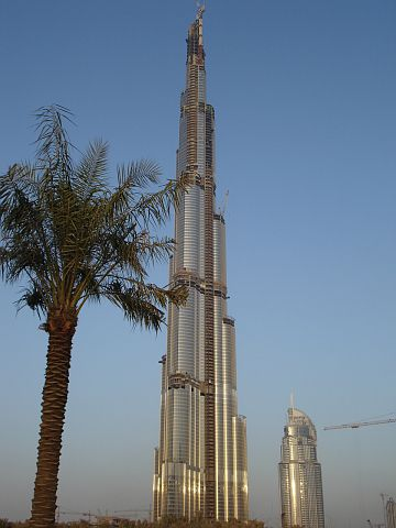 The role a Czech company played in the building of the Burj