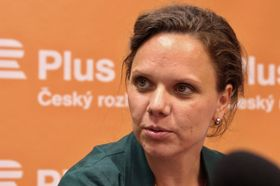 Bára Procházková (Foto: Luboš Vedral, ČRo)