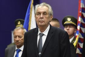Miloš Zeman, foto: ČTK / Ondřej Deml