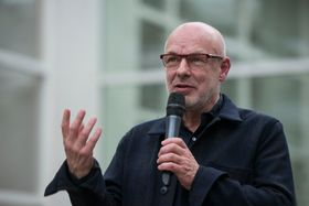 Brian Eno, photo: Tereza Křenová / National Gallery