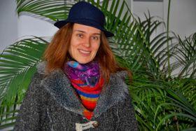 Eva Cendors, photo : Lucie Fürstová, ČRo
