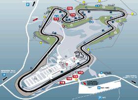 El circuito de Brno