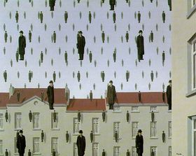 Rene Magritte - 'Golconde'