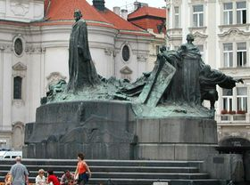 The statue of Jan Hus, photo: archive of Radio Prague