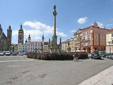 Morový sloup na Velkém náměstí, foto: Prazak, CC BY-SA 3.0 Unported