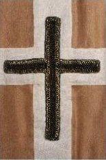 Dieses Kreuz gehörte ursprünglich zur Standarte des heiligen Wenzel (Foto: Jan Gloc, Fotothek der Prager Burg)