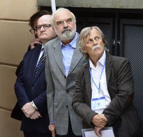Daniel Herman, Zdeněk Svěrák, Jiří Dědeček, photo: ČTK