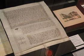 Dekret kutnohorský - opis zhotovený pro Jana Husa 18. září 1414, foto: Anton Kajmakov