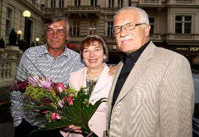В среду в Карловы Вары приехал глава государства Вацлав Клаус (Фото: ЧТК)